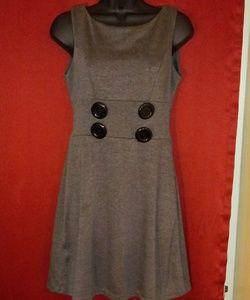 🌼 XOXO grey dress